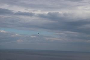 Nuages sur le lac Baïkal Sibérie