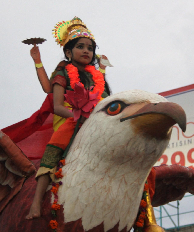 Fête de Krishna «Shobhayatras» pour la Fête Sri Krishna Jayanti – Calicut –Kerala