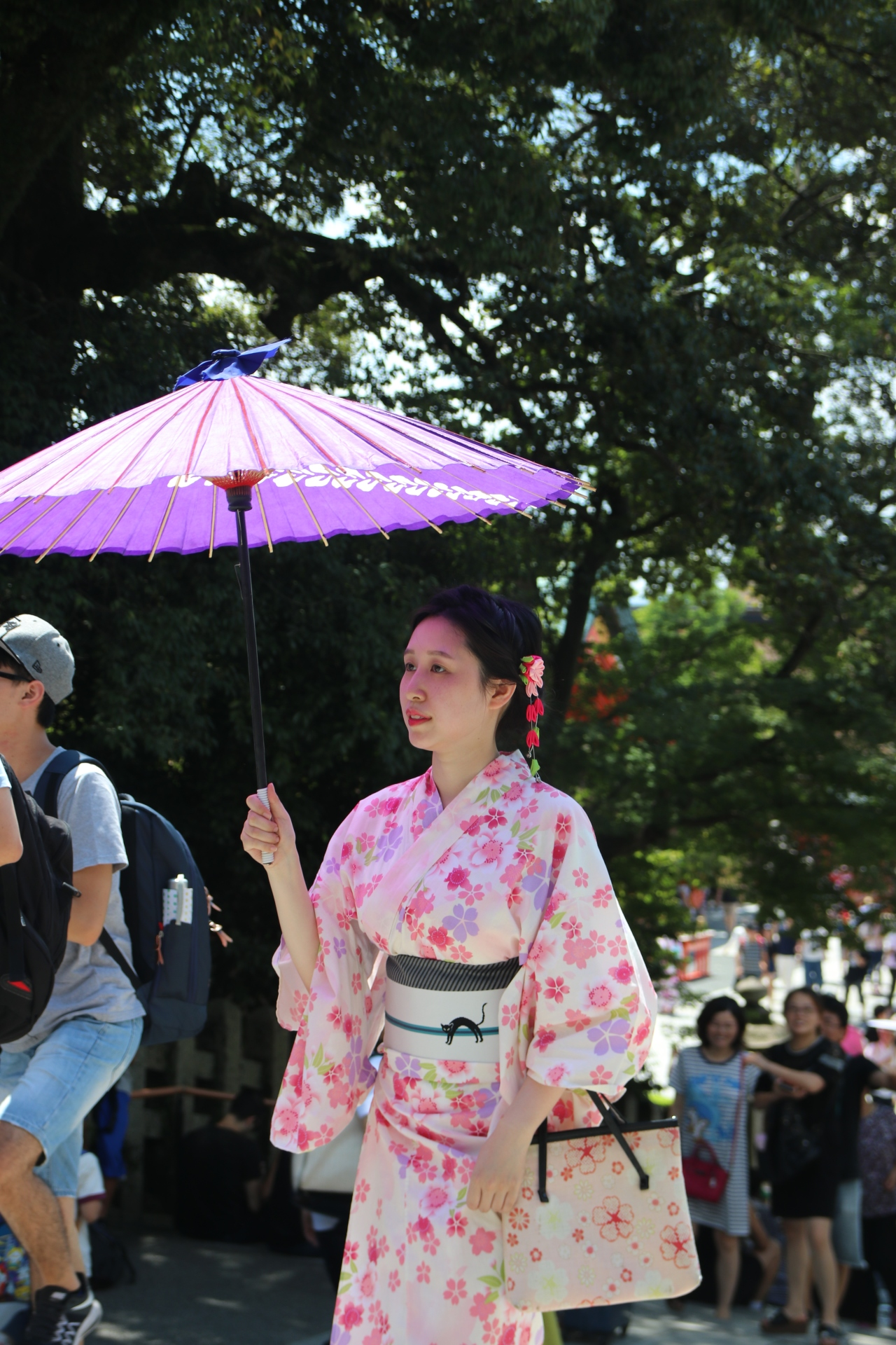 Kimonos et Manga girls – contrastes au Japon!