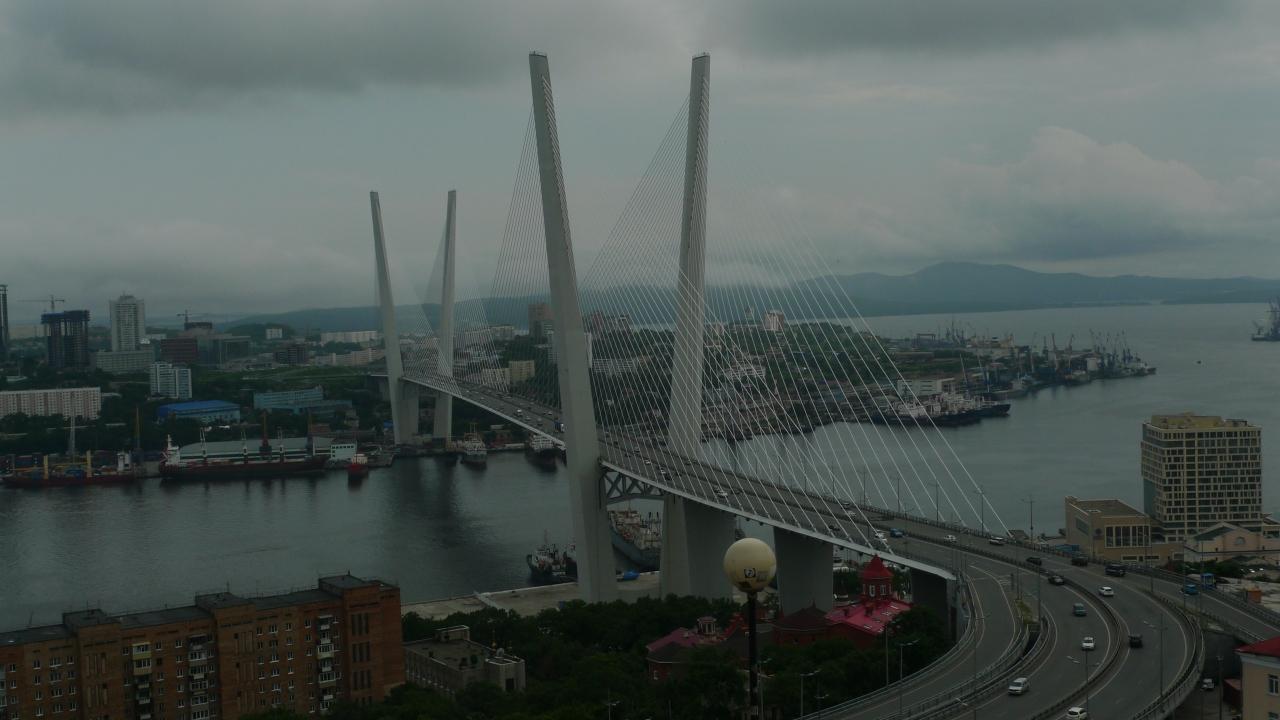 Vladivostok et son avancée sur la mer du Japon – Primorski Kraï –Владивосток