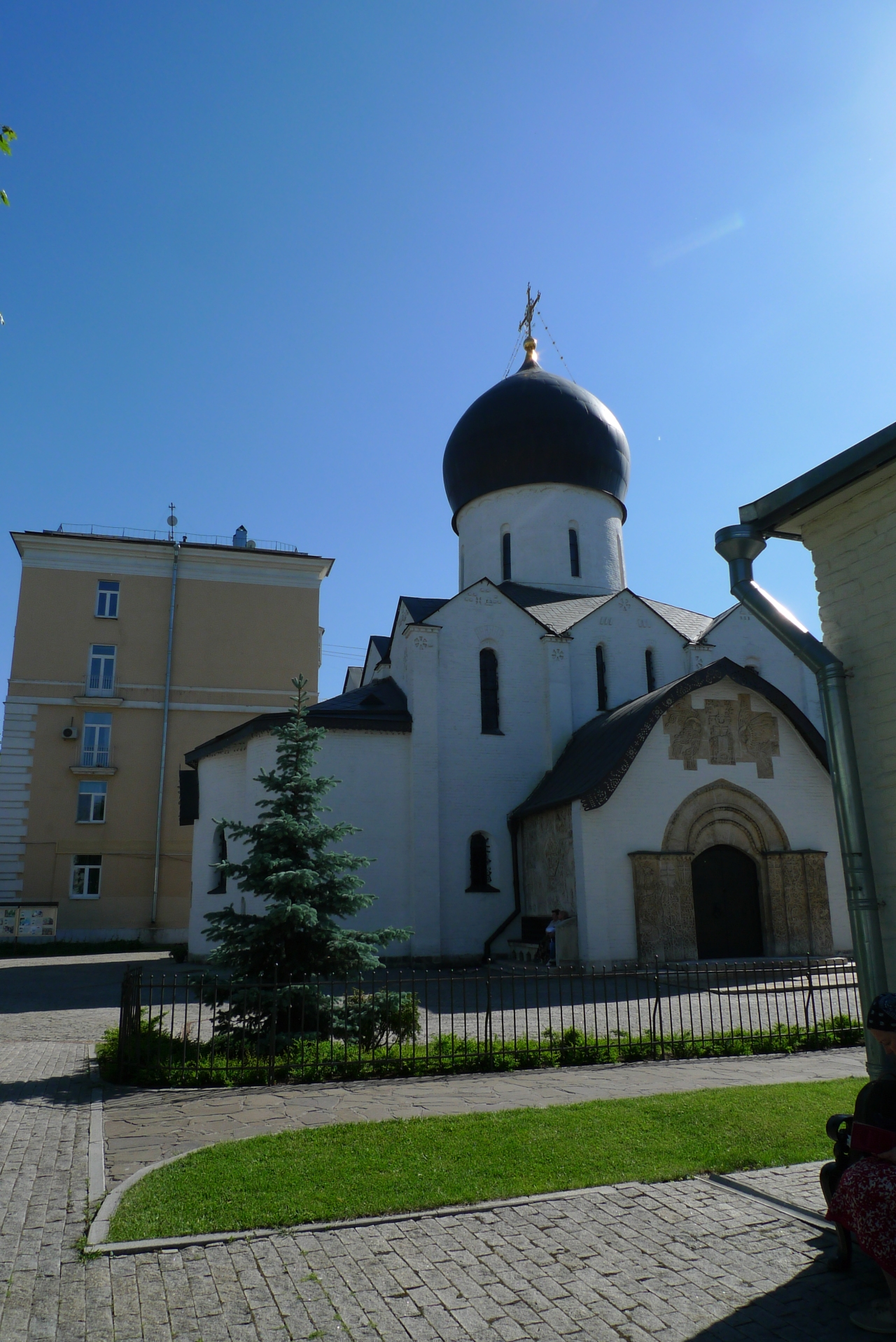 Le couvent Pokrosvski – des Saintes Marthe et Marie – Marfa-Marinskaia  – Moscou Mai2018